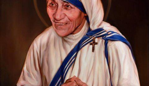 Imagen oficial de la canonización