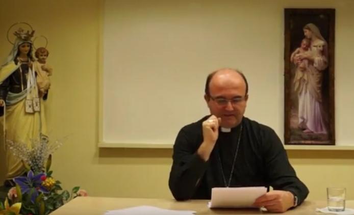 Adoración Eucarística y Sagradas Escrituras Mons José Ignacio Munilla