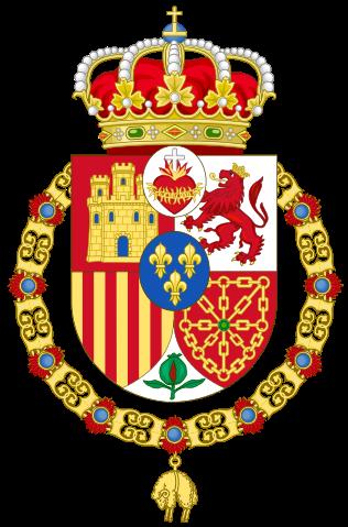 variante del escudo de españa
