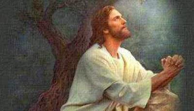 jesus-rezando