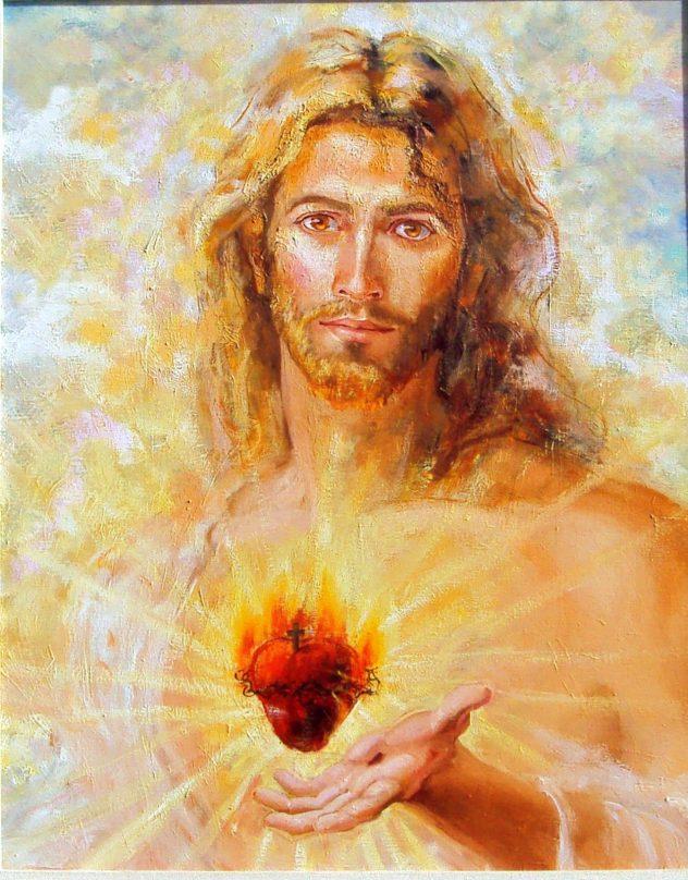 Corazón de Jesús Oración