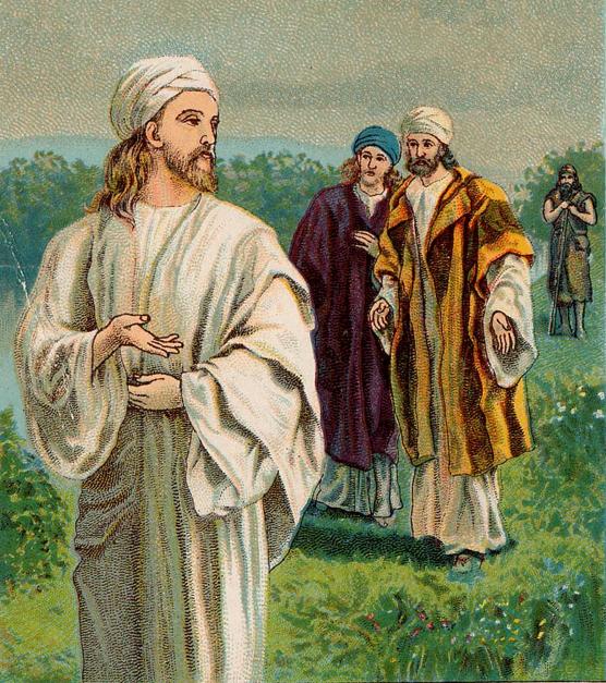Los discipulos preguntan a Jesús ¿Maestro donde vives?