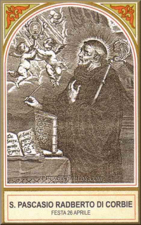 San Pascasio Radbert