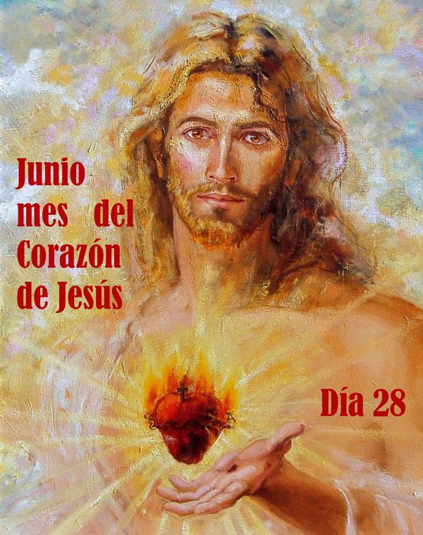 MES DEL SAGRADO CORAZÓN DE JESÚS, DÍA 28