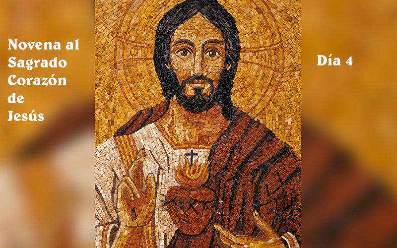 Novena al Sagrado Corazón día 4