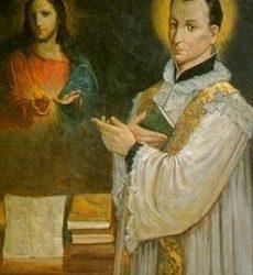 San claudio de la Colombiere y el Corazón de Jesús