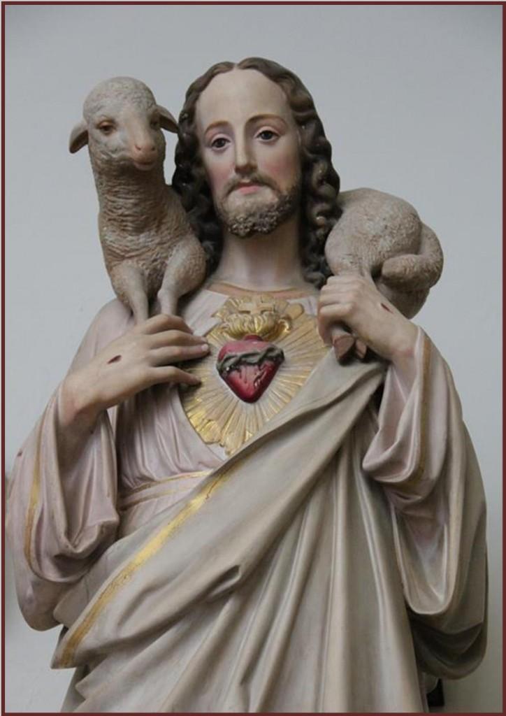 Sagrado Corazón modelo sacerdotal