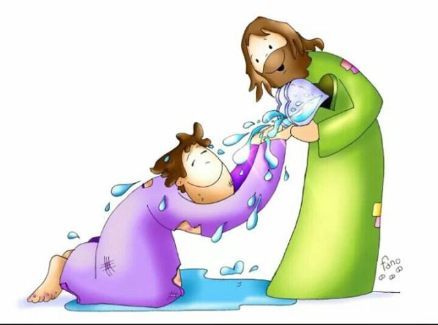Corazón de Jesús brota agua