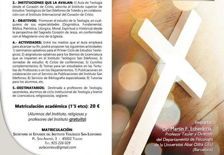 """Curso : """"Virtud y vida cristiana: el orden del amor"""""""