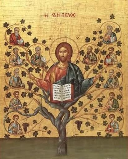 Jesucristo la vid y los sarmientos